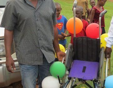 Spende für behindertes Kind