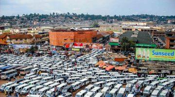 Kampala, Old Taxi Park