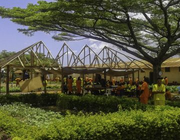 Kirchenbau in Kigo