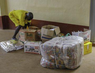 Hilfsgüterlieferung